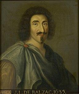 Jean-Louis Guez de Balzac - Versailles MV 2890