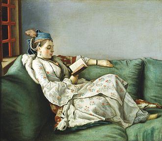 Adélaïde of France (1732–1800) - Image: Jean Etienne Lìotard Ritratto di Maria Adelaide di Francia vestita alla turca Google Art Project