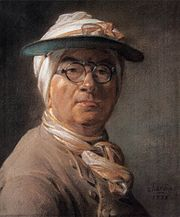 Jean Siméon Chardin - Self-Portrait with an Eyeshade - WGA04787.jpg