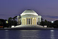 Jefferson Memorial At Dusk 2.jpg