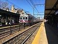 Jenkintown-Wyncote SEPTA station inbound West Trenton train November 2017.jpg