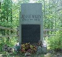Jenny Wiley Grave