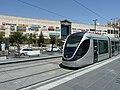 Jerusalem Pisgat Zeev Mall and Light Rail.jpg