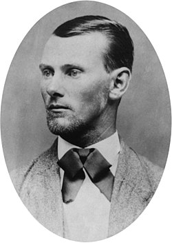 Jesse james portrait