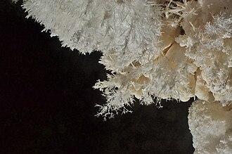 Frostwork - Frostwork in Jewel Cave, South Dakota.