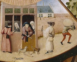 Envy - Hieronymus Bosch, The Seven Deadly Sins and the Four Last Things (Invidia)