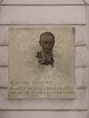 Bust of Jiří Mahen
