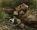 Joachim Frich - Study of Rocks - NG.M.04190 - National Museum of Art, Architecture and Design.jpg