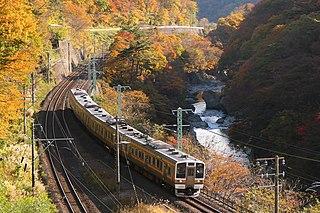 Jōetsu Line Railway line in Japan