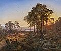 Johann Anton Castell - Abendstimmung über dem Elbtal (1848).jpg