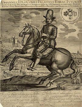 Johann II., Pfalz-Zweibrücken, Pfalzgraf