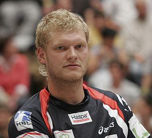 Handball goalkeeper - Johannes Bitter