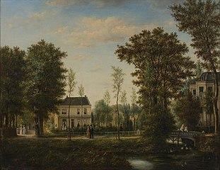 Villa's in park Honingen
