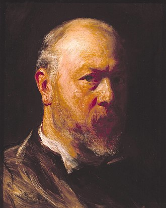 John Pettie - Self-portrait from 1882
