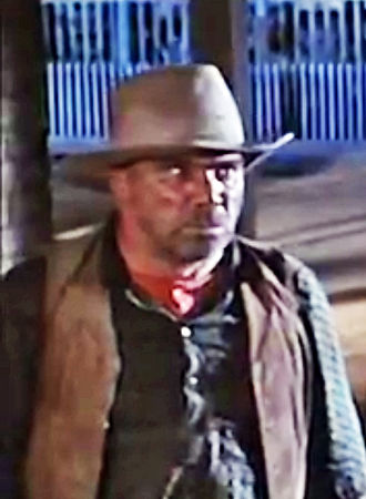 John Doucette - Screenshot of Doucette from a trailer for 7 Faces of Dr. Lao, 1964