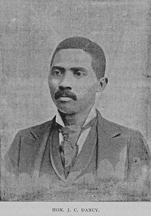 John C. Dancy - Dancy in 1895