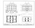 John Carlyle House, 123 North Fairfax Street, Alexandria, Independent City, VA HABS VA,7-ALEX,13- (sheet 2 of 8).png