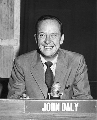 John Charles Daly - Daly as the host of It's News to Me in 1952.