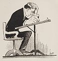 John Knott self-caricature 1918.jpg