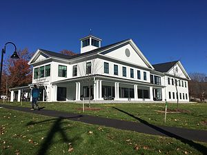 New England College - John Lyons Academic Center on the New England College campus