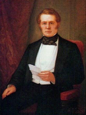 John McDougal - Portrait of McDougal by William F. Cogswell