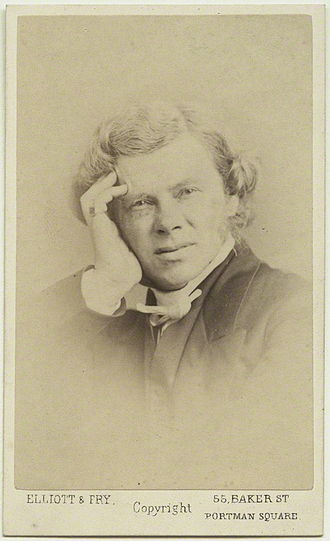 John Howson (priest) - Photograph of Howson by Elliott & Fry, 1860s