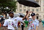 Joint Base San Antonio military ambassadors join Fiesta royalty, special guests to kick off Fiesta San Antonio 150416-N-UR169-004.jpg