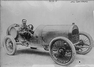 Josef Christiaens - Christiaens at the 1914 Indianapolis 500