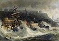 Joseph Newington Carter - Wreck of the Copeland of South Shields Nov 2 1861 at Scarboro Spa.jpg
