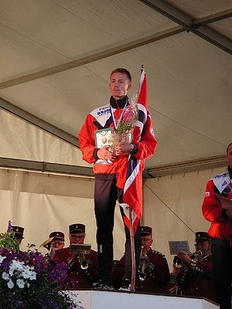 1978 in Norway - Jørgen Rostrup, winner of the classical distance at the 2001 World Orienteering Championships.