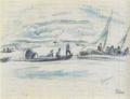 JulesPascin-1917-Port in Habana.png