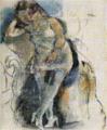 JulesPascin-1927-Reverse Three Women Sitting Woman.png
