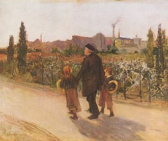 Jules Bastien-Lepage - All Souls' Day, c. 1882