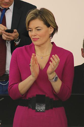Julia Klöckner - Klöckner attending parliament in 2014.