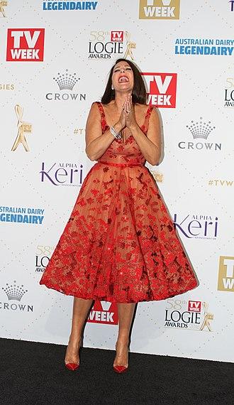 Julia Morris - Morris at the 58th TV Week Logie Awards