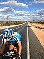 Juliana in Australia durante il Giro del Mondo in Bici.jpg