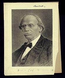 Portrait of Julius Benedict, composer (1804-1885), before 1885. (Source: Wikimedia)
