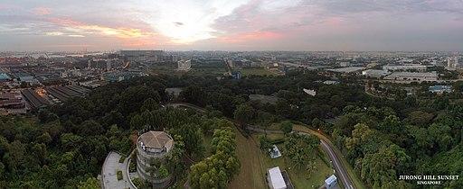 Jurong Hill sunset