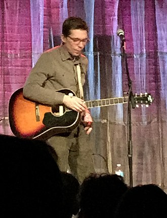 Justin Townes Earle - Justin Townes Earle performing at the Evanston SPACE in 2014