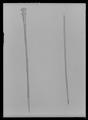 Käpp av ljust, knöligt trä - Livrustkammaren - 10422.tif