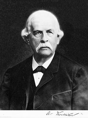 Albert von Kölliker - Image: Kölliker Rudolph Albert von 1818 1902