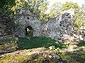 Kövesd's ruins (W). - Aszófő, Hungary.JPG