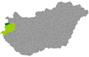 Kőszeg District - Image: Kőszegi járás