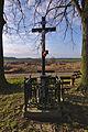 Kříž v západní části obce, Ostrov u Macochy, okres Blansko.jpg