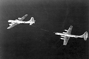 Boeing KB-29 Superfortress - KB-29M refueling KB-29MR