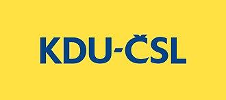 Christian and Democratic Union – Czechoslovak People's Party - Image: KDU CSL Logo