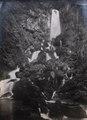 KITLV - 404463 - Kleingrothe - O.K. v. Sumatra - The so-called Petani waterfall in Bandar Baru on the east coast of Sumatra - circa 1910.tif