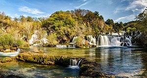 KRKA juga - KRKA Waterfall