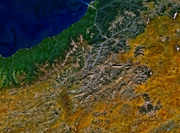 Satellite image of Kaçkar