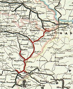 Kaiser Ferdinands Nordbahn 1849